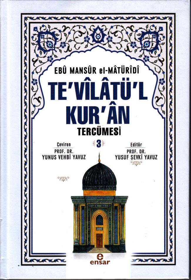 Te'vîlâtül Kur'ân Tercümesi 3
