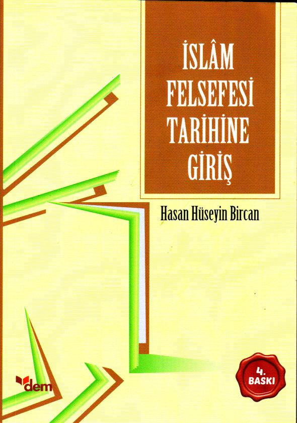İslam Felsefesi Tarihine Giriş