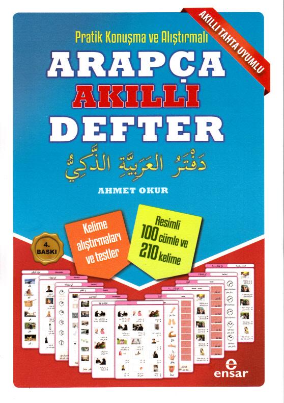 Pratik Konuşma ve Alıştırmalı Arapça Akıllı Defter