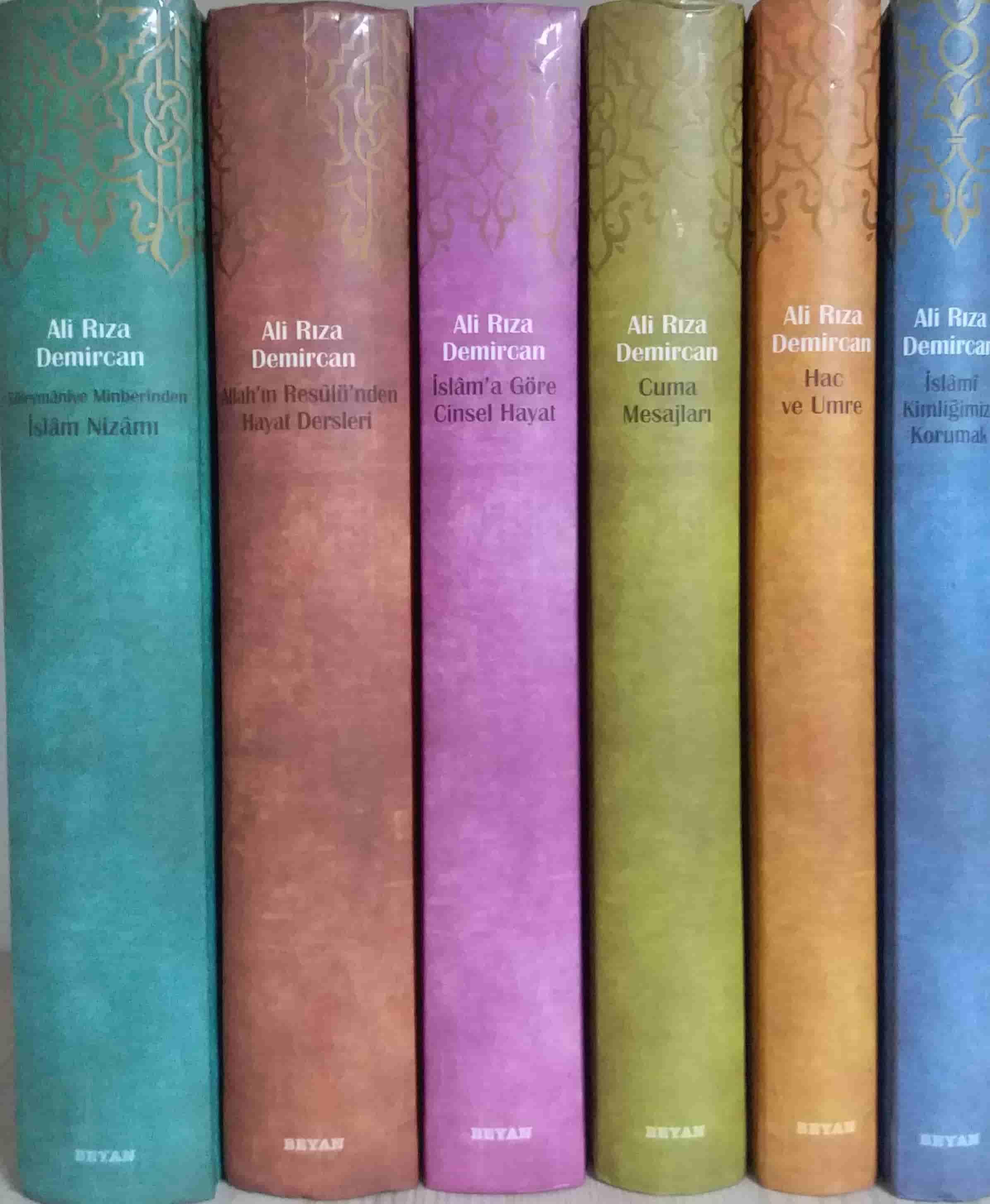 Ali Rıza Demircan Bütün Eserleri (6 Kitap Takım - Kutulu); İslami Kimliğimizi Korumak - Hac ve Umre - Cuma Mesajları - İslam'a Göre Cinsel Hayat - Süleymaniye